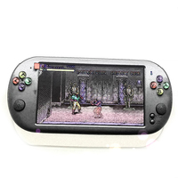 AAAE Powkiddy 7 Game Console Portable Support For Neogeo Arcade Video Games W/1500 Free Retro Mini Game 8 Bit 16/32 bit Console
