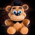18 см FNAF Пять Ночей Кукла На фредди Плюшевый Медведь, Игрушки Мягкие Куклы Для Детей