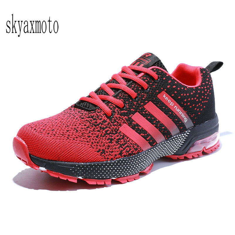 New Sneakers Cushion Sports Shoes Male Fly Line New Shock Absorber Running Mens Shoes Autumn Breathable Marathon Running Shoes Quell Summer Thirst Underwear & Sleepwears