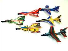 უფასო გემი 50x პოლისტირონის ქაფი კლასიკური გასროლა მფრინავი glider თვითმფრინავები ბავშვები საბავშვო წვეულება სათამაშოები თამაშები მომხრე ტომარა pinata საფონდო შემავსებლები