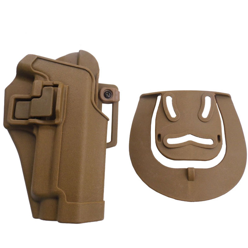 CQC Tactical Belt Gun Holster Army Combat Outdoor Pistol Belt Holster Fit For SIG SAUER P220 P226 P228 P229