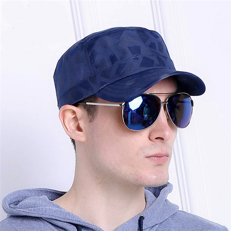 Fashion Men snapback baseball caps Summer Sports Snapback waterproof Flat top hat For Men's fashion smilling face embroidery flat top bucket hat for men