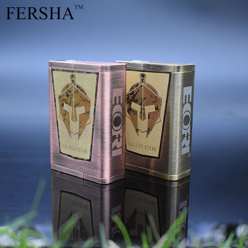 FERSHA Gladiator Box Kit 200W TCR Mod Thermostat RDA Tank Box Mod Vape Electronic Cigarette FashionFERSHA Gladiator Box Kit 200W TCR Mod Thermostat RDA Tank Box Mod Vape Electronic Cigarette Fashion