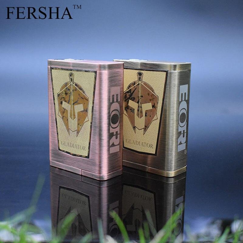 FERSHA Gladiatore Box Kit 200 W TCR Scatola Serbatoio Termostato RDA Mod Vape Mod Sigaretta Elettronica di Moda