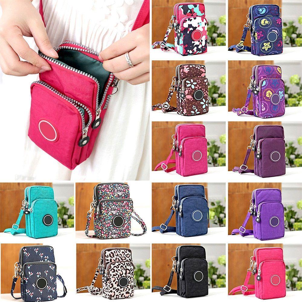 New2020 Mini Cross-body Mobile Phone Shoulder Bag Pouch Case Belt Women Men Handbag Purse Wallet Pouch Shoulder Mobile Phone Bag
