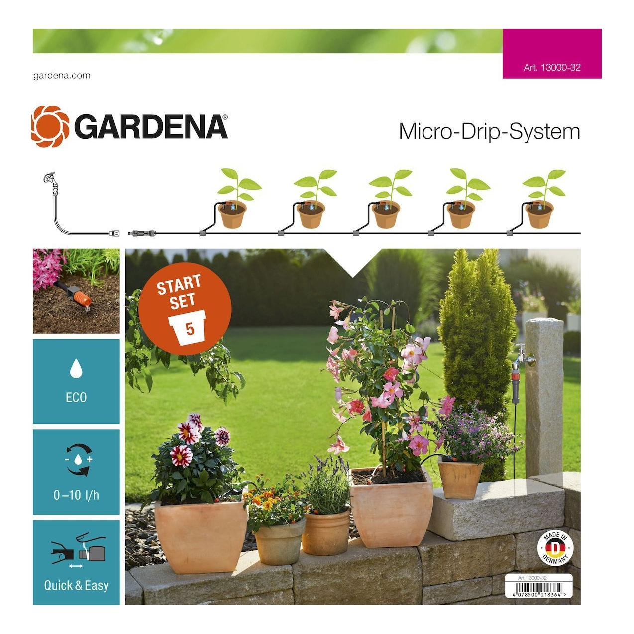 Watering systems GARDENA 13000-3200000