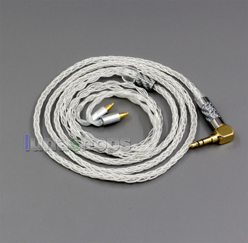 99.99% Pure Silver XLR 3.5mm 2.5mm 4.4mm Earphone Cable For Sennheiser IE40 Pro LN006350