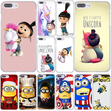 636F Minion My Unicorn Agnes fashion Minions Hard Transparent Case Cover for iPhone 7 7 Plus