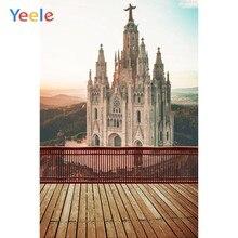 Yeele Fotografia Backdrops Palácio Igreja Comemorativa Turismo Fundos Fotográficos Para O Estúdio de Fotografia de Casamento Cenário