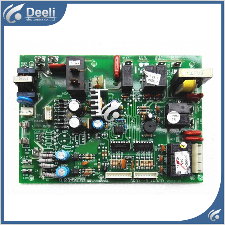 100% tested for air conditioner circuit board motherboard 3453 GR3X--B V3.0 V3.1 V4.1 used board dhl ems 1pc used fanuc circuit board a20b 2900 0380 tested a2