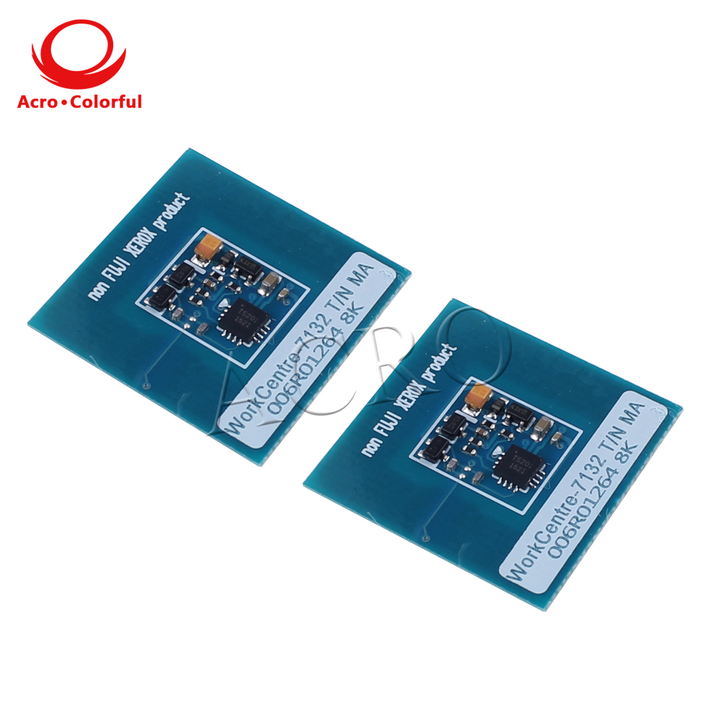 006R01318 006R01269 006R01268 006R01267 toner reset chip for Xerox WorkCentre 7132 7232 7242 WC 7132 laser printer in Cartridge Chip from Computer Office