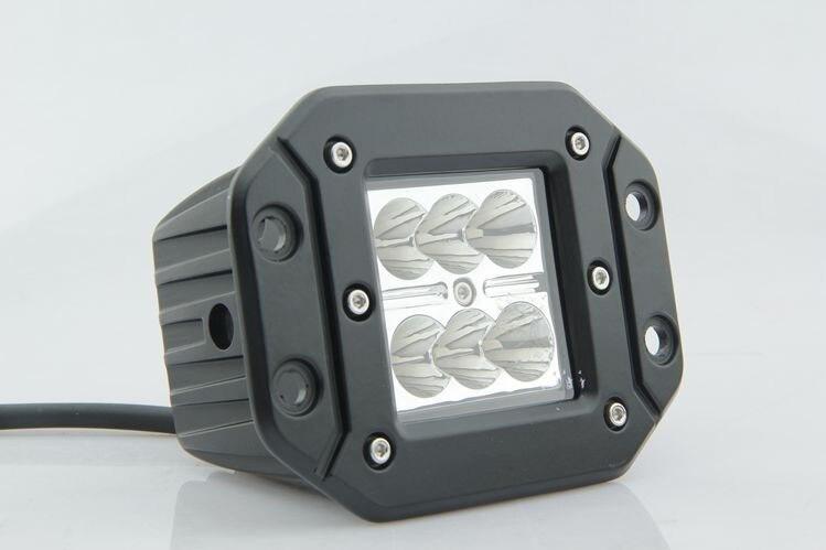 Universal fit Ingebed installatie Led Verlichting Offroad spotlight ...