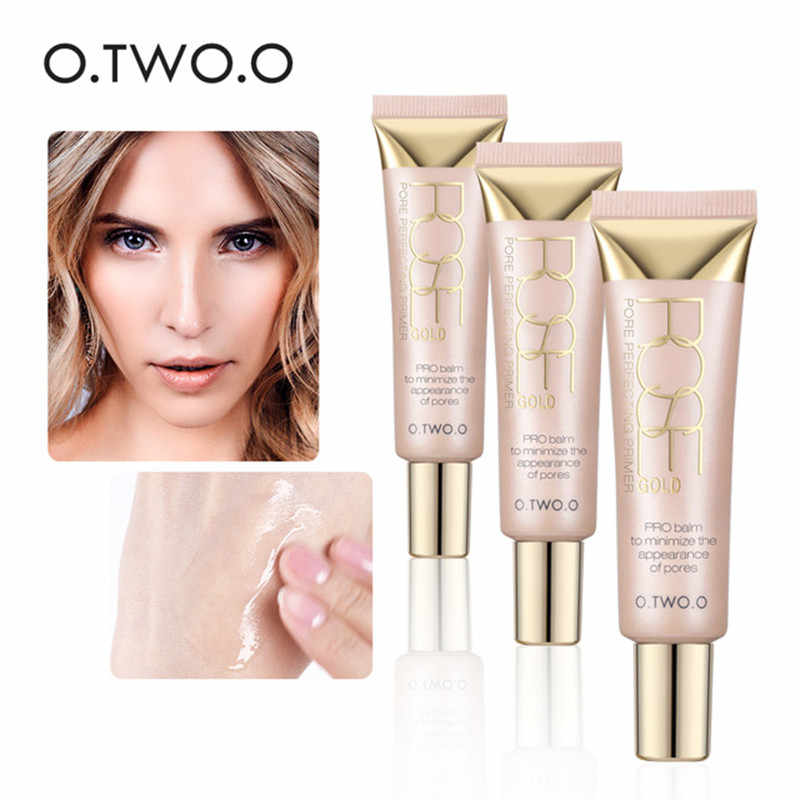 O.TWO.O Brand Face Makeup Primer Pore Perfecting Base Foundation Primer Makeup Oil-Control Moisturizing Whitening Face Cosmetics