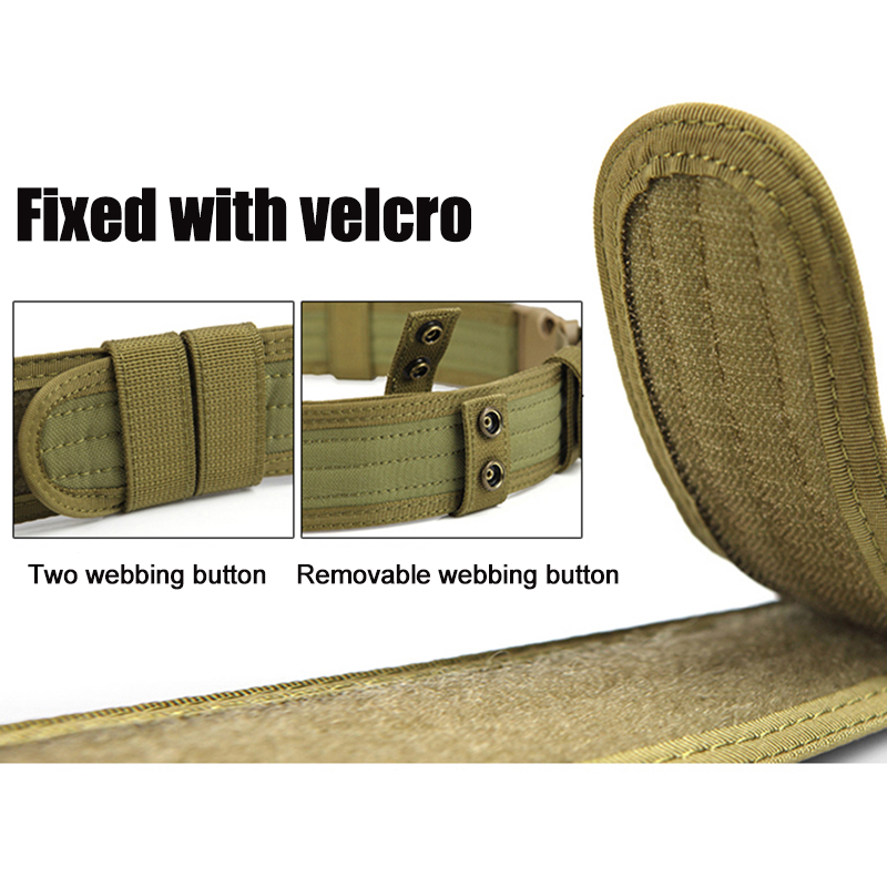 FREE SOLDIER Outdoor sport tactical belt for camping ...