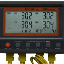Multi-channel Digital Thermometer AZ88598 4 Channel K Type Thermocouple Temperat