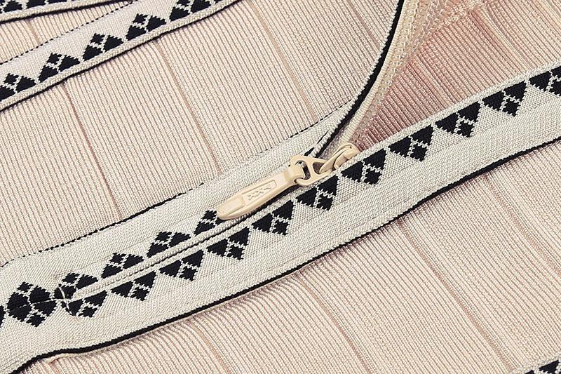 Cachi Ricamo Strap Spaghetti Mini V Beige A 762 2017 Fasciatura Scollo Dress Dalla Vestito L Patchwork Delle Jacquard Aderente Donne Rayon Adornano B1qqCw