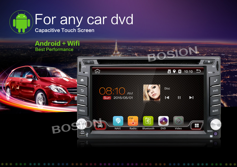 buy best dual core universal 2 din android 4 4 car dvd player gps wifi bluetooth radio 1gb cpu. Black Bedroom Furniture Sets. Home Design Ideas