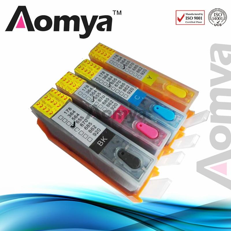 Full Ink For HP 655 Refillable Ink Cartridge For HP Deskjet 3525 4615 4625 5525