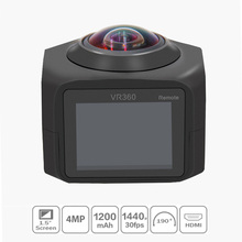 Mini VR 360 Go Pro Action Video Camera with Accessories for Outdoor Sports 4K HD Fisheyes 12 Megapixels Wireless Remote Control