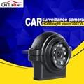 PAL/NTSC HD 420TVL/600 700tvll/Opción 700TVL Mini Automóviles Cámara IR Día/Noche Visión 12 Unids LED Coche Dom Cámara Envío Gratis