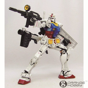Image 3 - OHS Bandai RG 01 1/144 RX 78 2 Gundam EFSF Close Combat Mobile Suit Assembly Model Building Kits oh