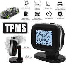 Vehemo TPMS монитор давления в шинах датчик Tmps для высокой температуры сигнализации стабильный измеритель цифровой для анти-взрыва