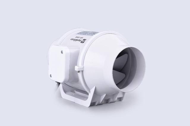 Hon y Guan HF-100S E-EMS Envío libre 3 pulgadas Conducto del Ventilador Axial De Flujo Mixto HF-100S 3' 110 V/220 V sistemas de ventilación ventilador de conducto