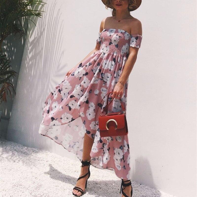 Vestidos Playeros Verano Mujer Vestidos Largos Nuevas