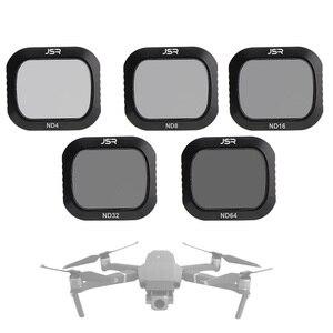 Image 1 - ل Mavic 2 برو Drone تصفية الكثافة المحايدة كاميرا مرشحات مجموعة ل DJI Mavic 2 برو ND 4/8 /16/32/64 الزجاج البصري عدسة ترشيح