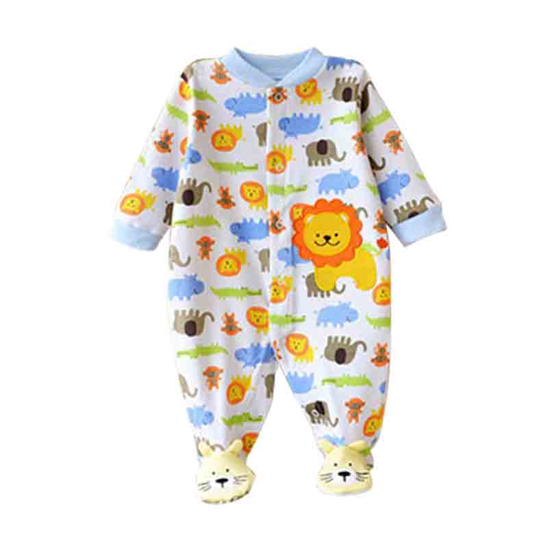 Near Cutest 2017 Winter Baby Rompers Long Sleeves 100% Cotton Infant Coveralls Newborn Baby Boy Girl Clothes Baby Clothing newborn baby girl clothes air cotton winter thicken coveralls rompers princess lace infant girls clothing set jumpsuit hats