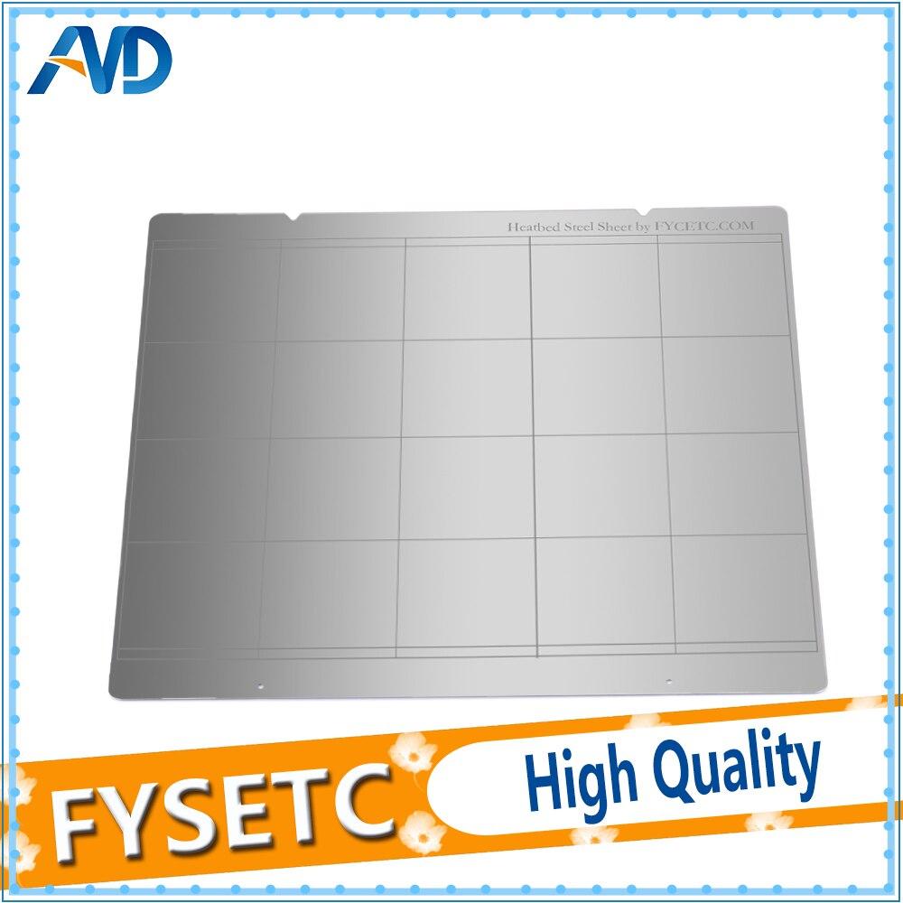 Reprap i3 Mk3 Mk52 Spring Steel Sheet Heat Bed Platform 3D Printer Printing Buildplate For Prusa i3 3D Printer Parts
