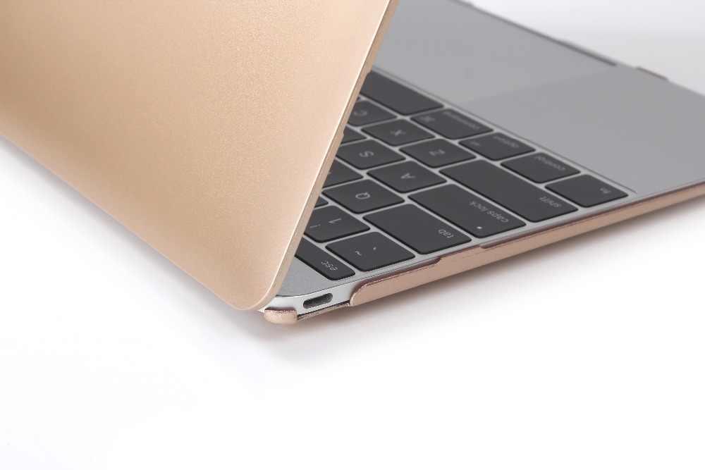 חדש זהב עבור Macbook Air Pro 13 מגע בר מחשב נייד מקרה מט A1989 A1932 עבור Mac ספר אוויר Pro רשתית 11 12 13 15 מקלדת כיסוי