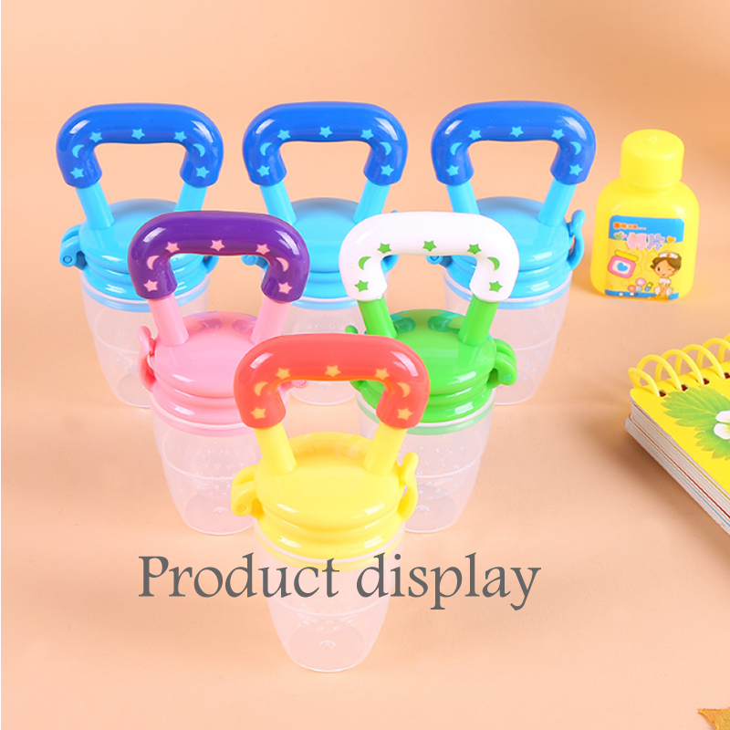 Baby food nipple feeder pacifier fruit feeding supplies silicone pacifier nipple soft feeding tool pacifier silicone child