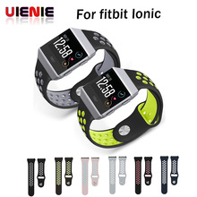 UIENIE Sport bands For fitbit Ionic band Silicone wrist strap wristband Replacement Bracelet watchband belt for