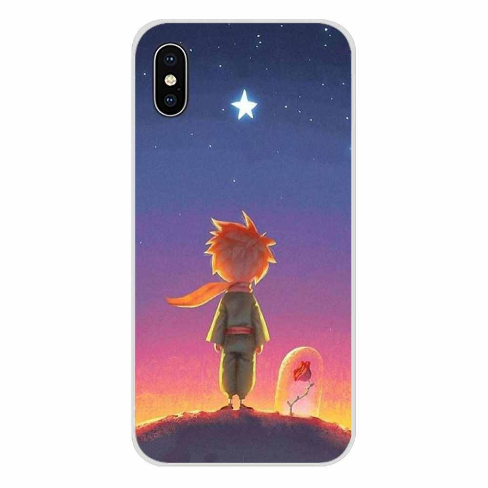 Для Motorola Moto x4 E4 E5 G5 G5S G6 Z Z2 Z3 G G2 G3 C Play Plus Аксессуары чехлы для телефонов Розовый Маленький принц с лисой
