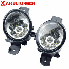 Fog Lamp Assembly High Brightness Fog Lights Lamp For Nissan X-Trail T30 2001-2006 LED Fog Lamps Light(China)