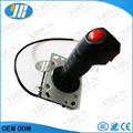 Flight stick with a Trigger and top fire button 8 way Grip Joystick game machine