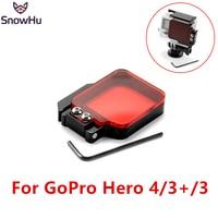 SnowHu cho gopro Cung Cấp Nhà Máy TMC Light Chuyển Động Đêm dưới Biển Lọc cho Go Pro Hero 4 3 + SH194