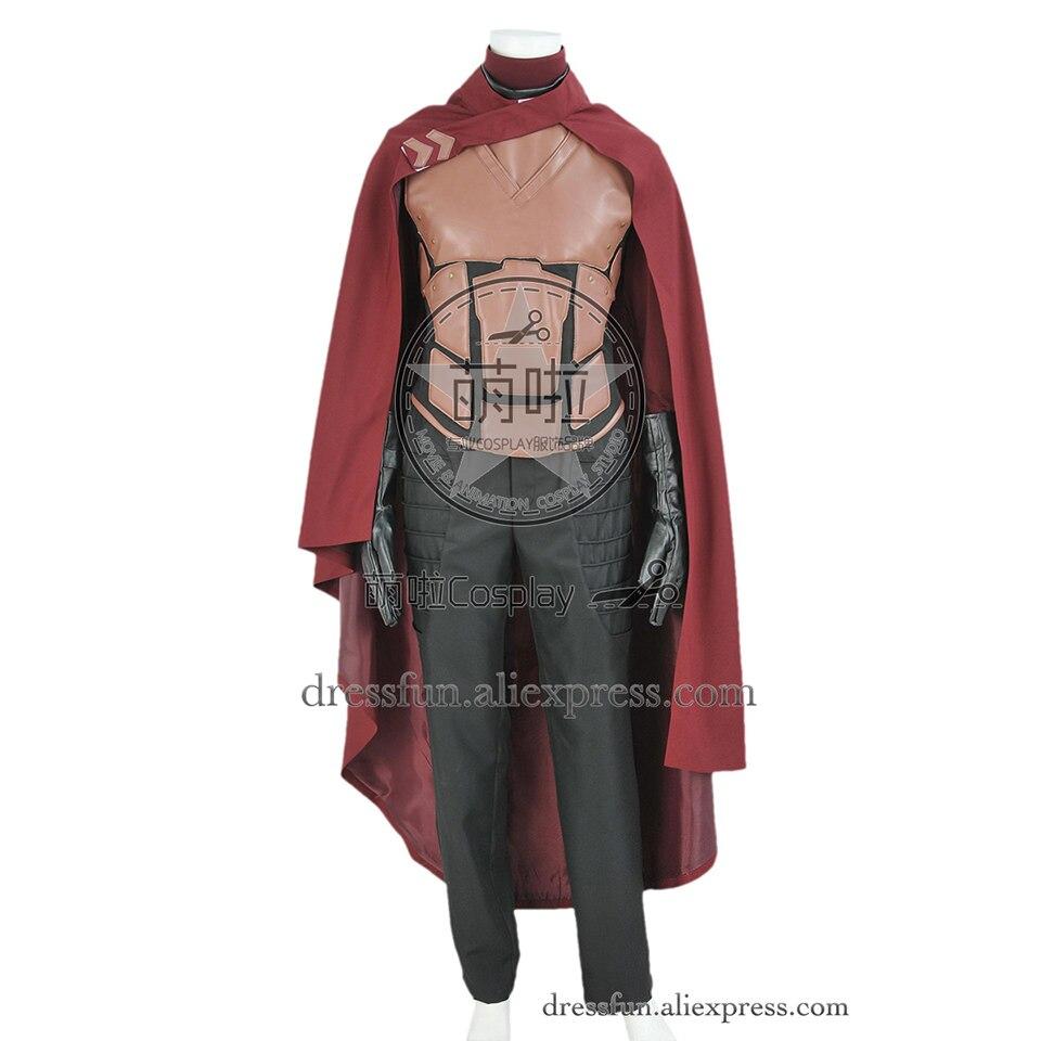 X-men X Men Cosplay Erik Lehnsherr Magneto Costume Fighting Service Uniform Outfits Party Halloween High Quality Male Adult