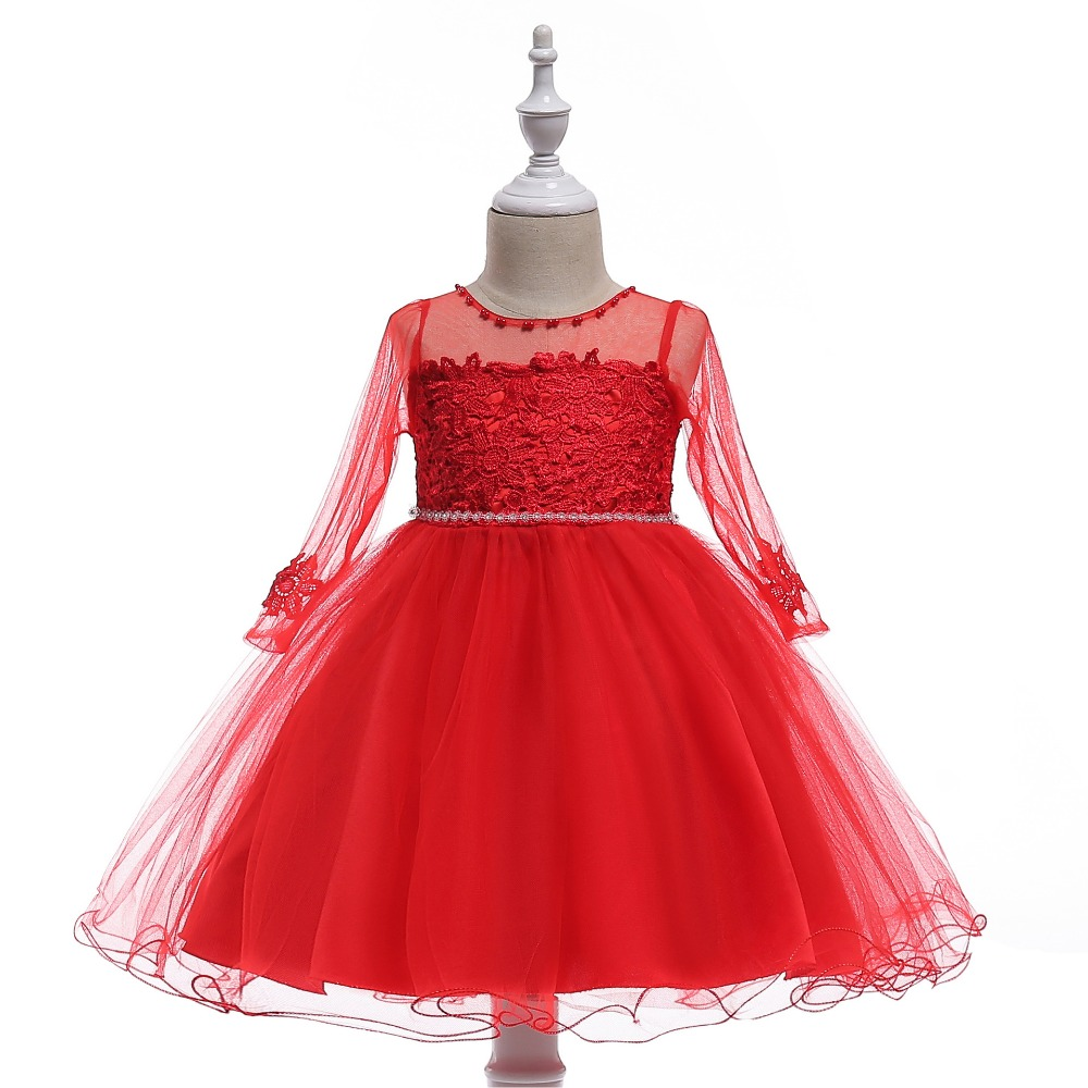 New Arrival Little Princess   Flower     Girl     Dresses   First Communion   Dresses   For   Girls   Pageant   Dresses   for   Girls   2018 Real Picture