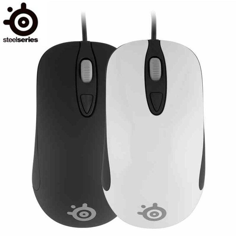 Prix pour D'origine SteelSeries Kinzu V3 Optique Gaming Mouse 2000 DPI USB Filaire Steelseries Souris Livraison Gratuite