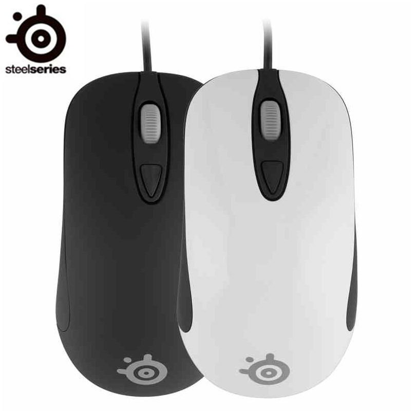 Original SteelSeries Kinzu V3 Optical Gaming Mouse 2000DPI USB Wired Steelseries Mouse Free Shipping r horse fc 1616 stylish usb wired 2000dpi gaming mouse w rgb led light black white