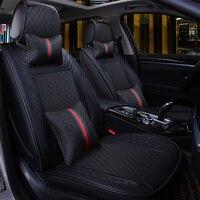 Сиденья Чехлы для мангала Авто Салонные аксессуары для Ford FIGO Focus 1 2 3 MK2 Fusion Galaxy Kuga 2 Taurus