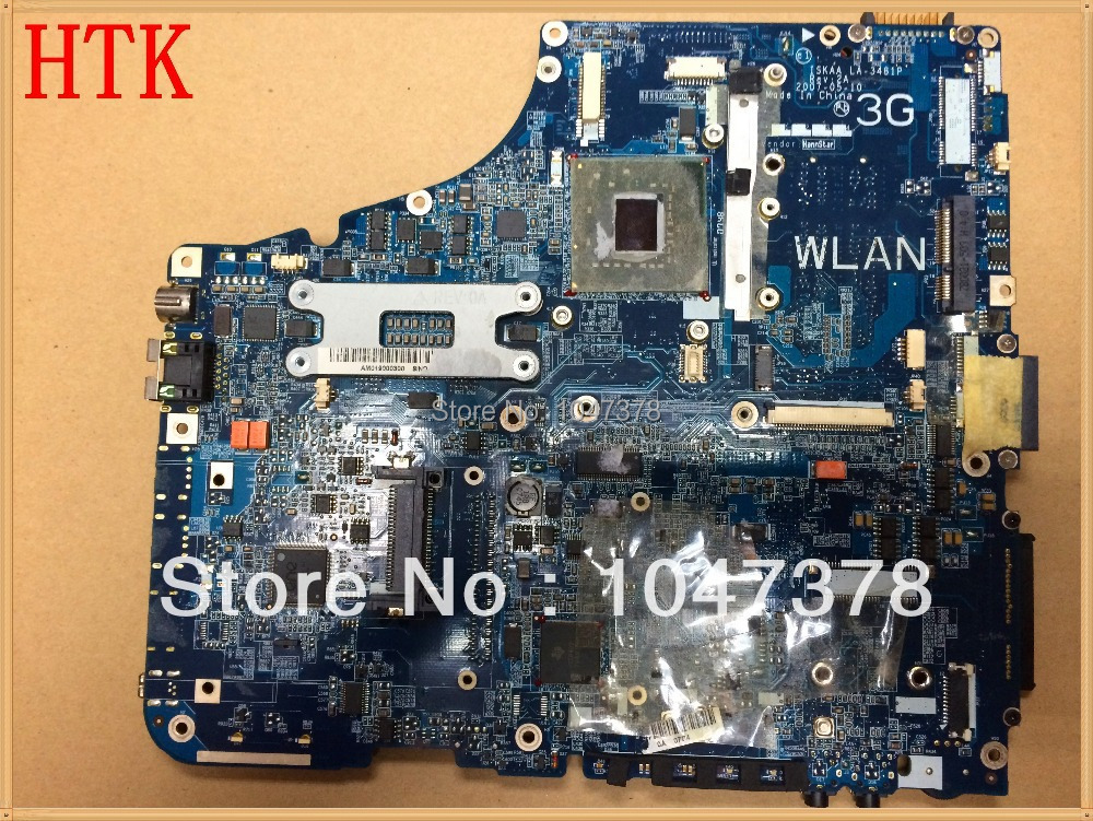 Original  for Toshiba A200 965GM laptop motherboard K000052930 LA-3481P ,100%Tested and guaranteed in good working condition