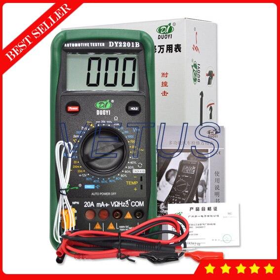 DY2201B Automotive Meter with Best Digital Multimeter tester ne555 adjustable pulse generator can be used as automotive stopwatch regulator meter meter walking mileage increaser kit