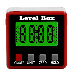 Image 3 - Precision Digital Protractor Inclinometer Water Proof Level Box Digital Angle Finder Bevel Box With Magnet Base