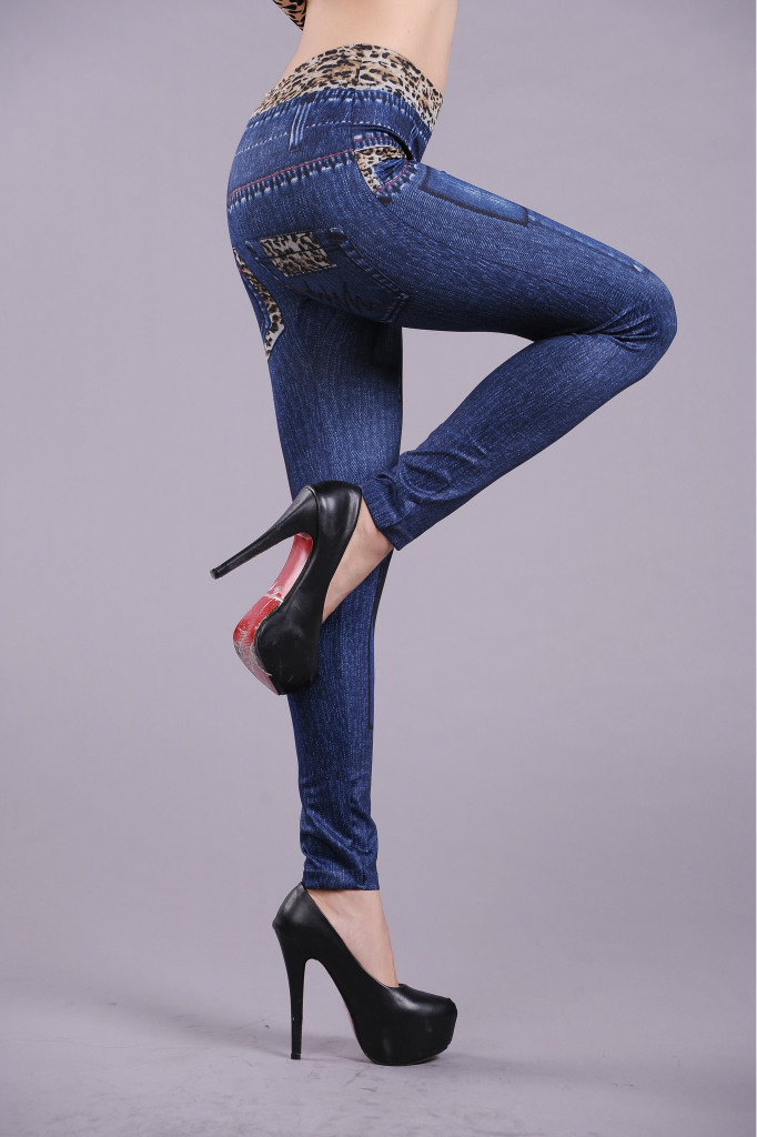 Leopard Print Women's Jean's Leggings - One Size Fits All - Blue or Black - image HTB1BAH4azoIL1JjSZFyq6zFBpXaJ on https://awesomeleggingstore.com