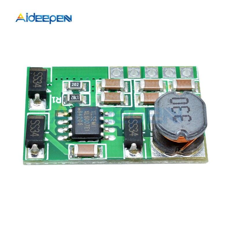 3 V-18 V to+-5V 6V 9V 12V 15V 24V 1.8A 2A положительный и отрицательный двойной Вт конвертер постоянного/переменного тока, повышающий наддува модуль Плата регулятора - Цвет: 9v without pin