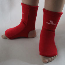 Spats back boxing sanda spats Tae kwon do To protect the ankle Fighting karate gear Sports gear(China)