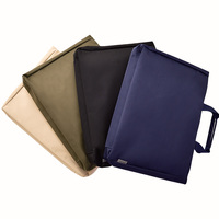 DEL Document Bags A4 File Folder Students Paper Storage Bag Business Briefcase Laptop Bag Office Portable Folder Filing Products